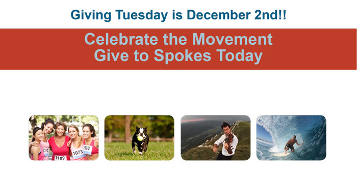 Celebrate Giving Tuesday.